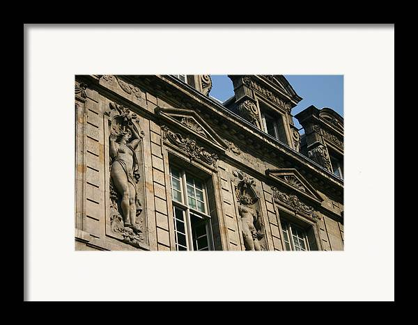 Framed Print featuring the photograph Paris - Architecture 2 by Jennifer McDuffie