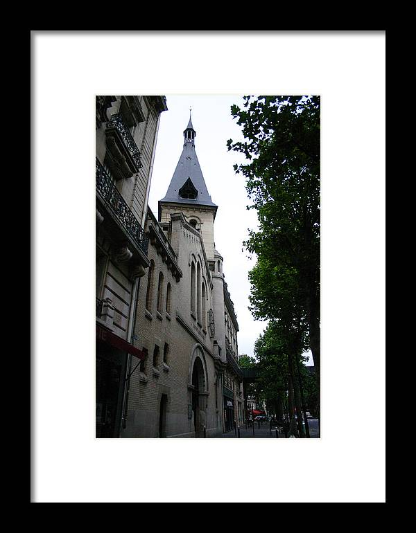 Framed Print featuring the photograph Paris Church 2 by Jennifer McDuffie