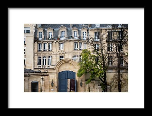 Museum Framed Print featuring the photograph Paris Through Glass 1 by Aaron Jean