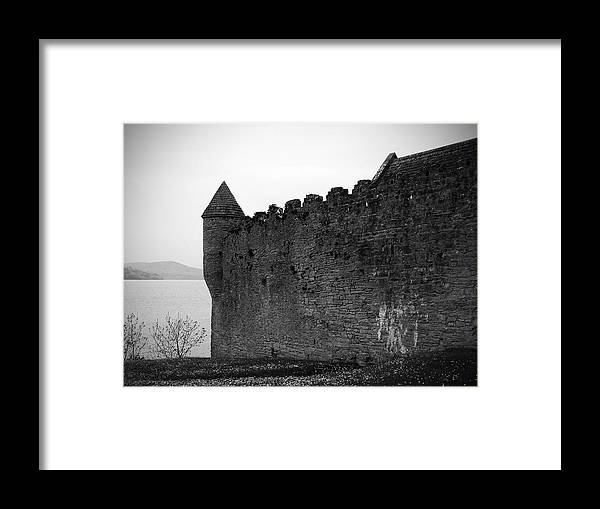 Ireland Framed Print featuring the photograph Parkes Castle County Leitrim Ireland by Teresa Mucha