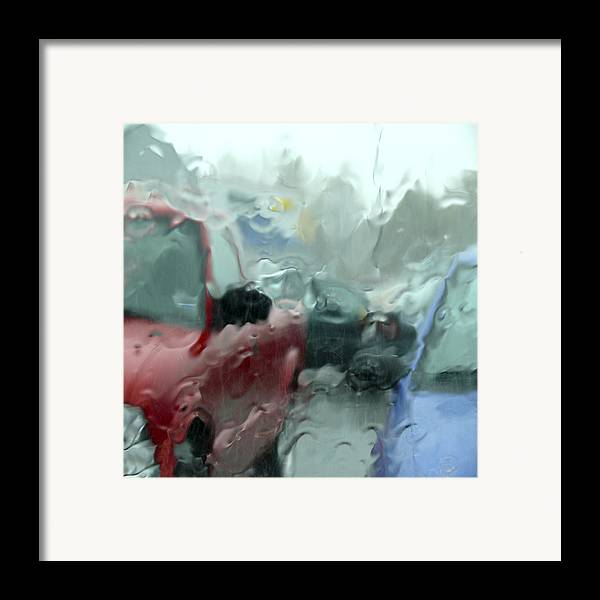 Square Fine Art Framed Print featuring the photograph Parking Lot by Mike McGlothlen