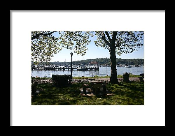 Landscape Framed Print featuring the photograph Parkside by Dennis Curry