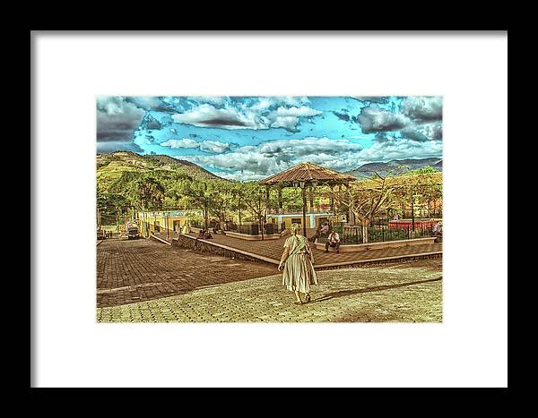 Antigua Guatemala Framed Print featuring the photograph Parque Ciudad Vieja - Guatemala Iv by Totto Ponce