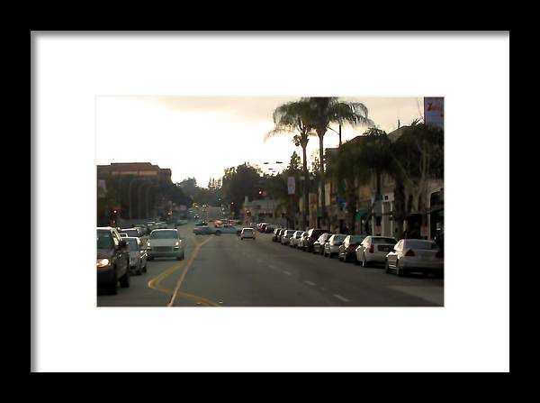 Cityscape Framed Print featuring the photograph Pasadena 1087 by Edward Ruth