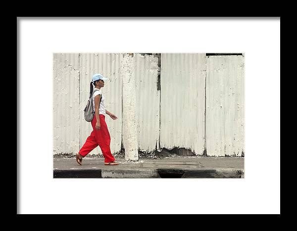Photographer Framed Print featuring the photograph Passing 3 by Jez C Self