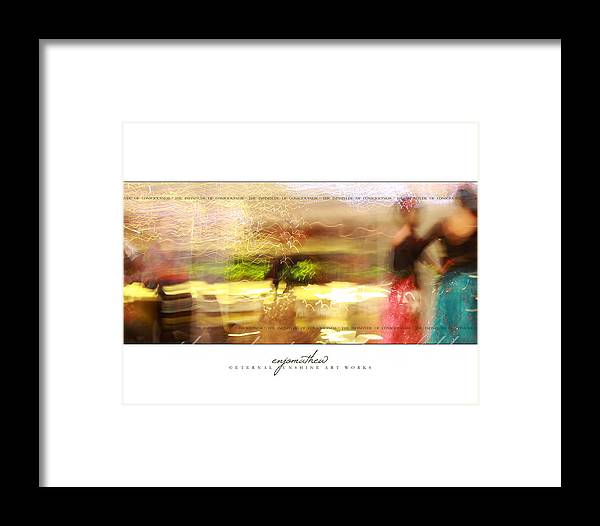 Beauty Framed Print featuring the photograph Passing Beauties by Enjo Mathew