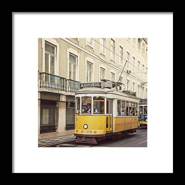 Portugal Framed Print featuring the photograph Tram 28 by Maggy Morrissey