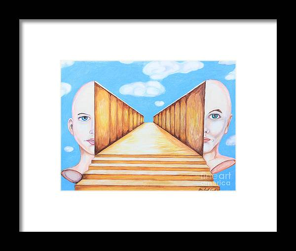 Path Of Unity Framed Print