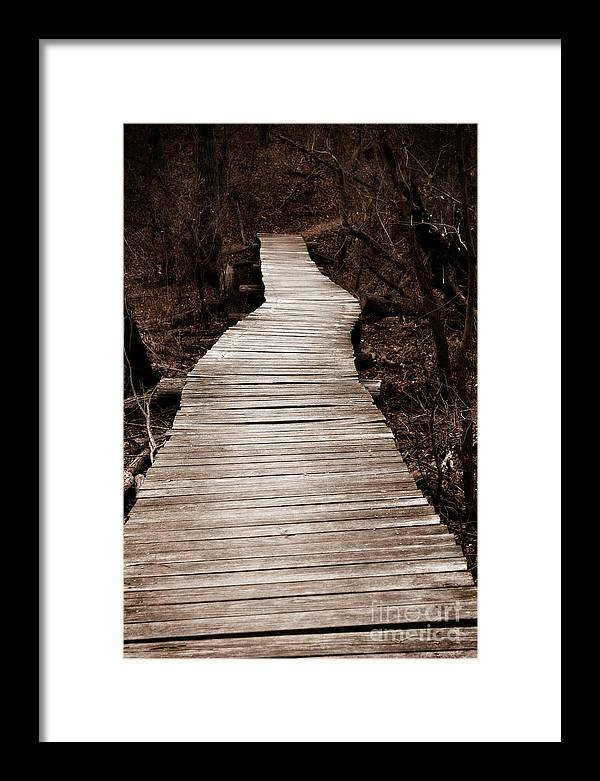 Path Framed Print featuring the photograph Path To Nowhere by Jeannie Burleson