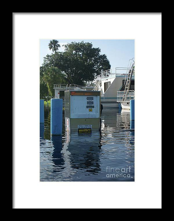 Building Framed Print featuring the photograph Pay At The Pump by Jack Norton