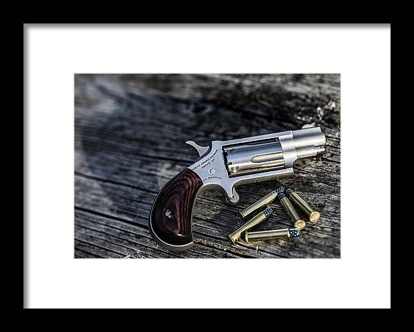 Gun Framed Print featuring the photograph Pea Shooter by Keith May