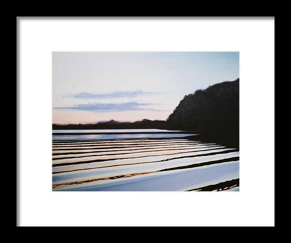 Peace Project Framed Print featuring the painting Peace by Hunter Jay