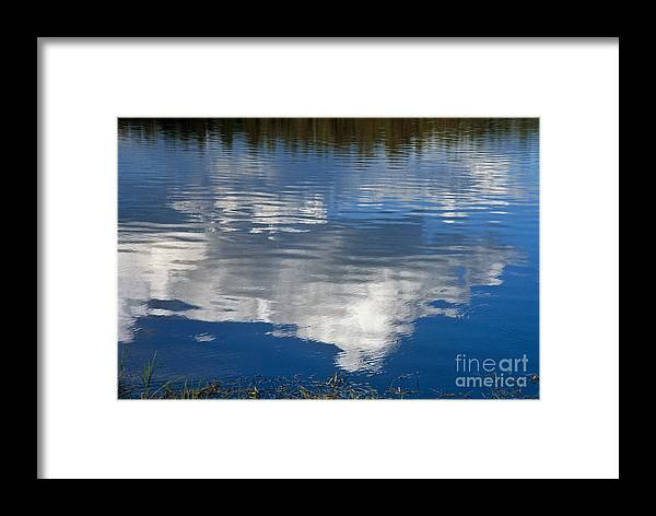 Landscape Framed Print featuring the photograph Peace by Kathy McClure