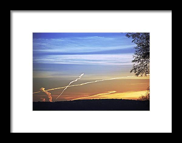 Landscape Framed Print featuring the photograph Peace by M Ryan