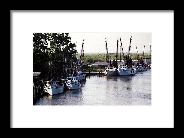 Landscape Framed Print featuring the photograph Peace by Michael Morrison