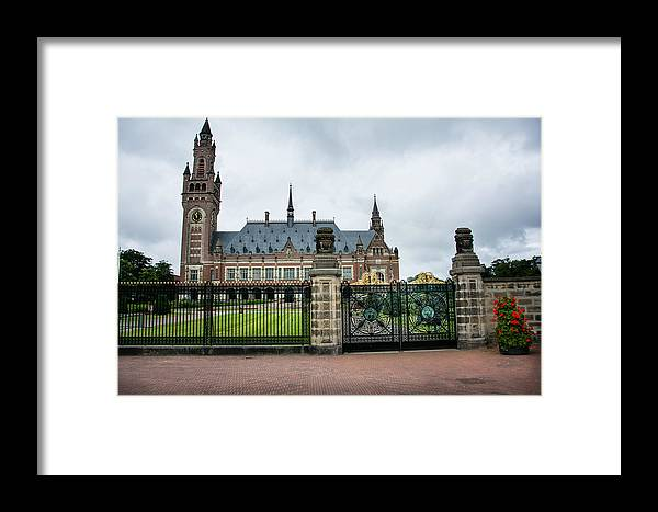 Holland Framed Print featuring the photograph Peace Palace by Joan Baker