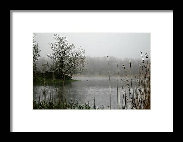 Landscape Framed Print featuring the photograph Peaceful Calm by Erika Lesnjak-Wenzel