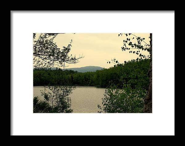 New England Framed Print featuring the photograph Peaceful Cove by Lois Lepisto