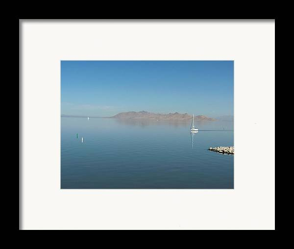 Landscape Framed Print featuring the photograph Peaceful Existence by Janet Hall