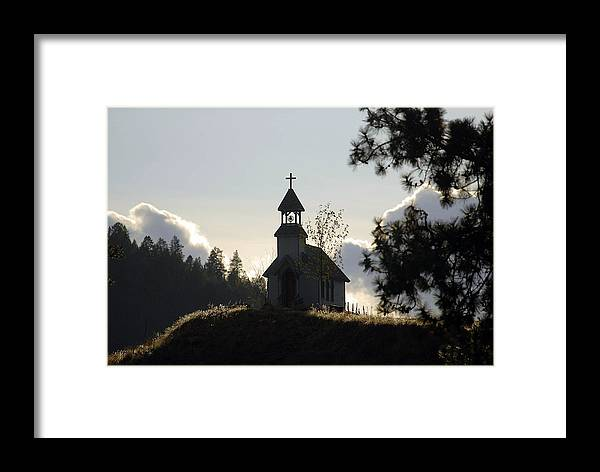 Framed Print featuring the photograph Peaceful by Jim