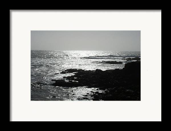 Beaches Framed Print featuring the photograph Peaceful by Shari Chavira