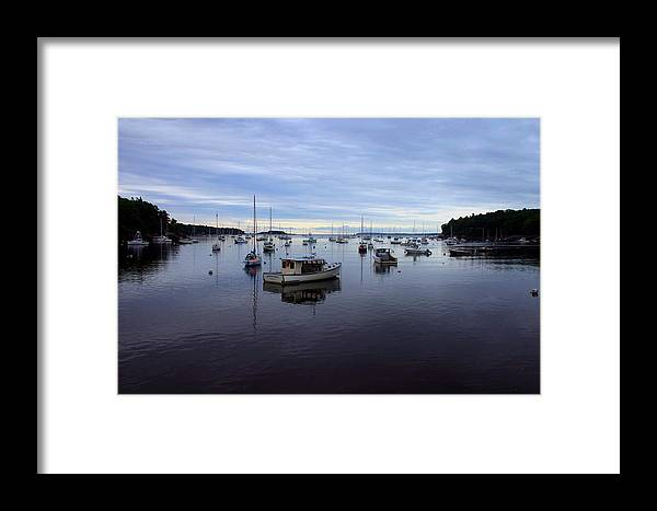 Bay Of Camden Framed Print featuring the photograph Peaceful Waters by Dennis Curry