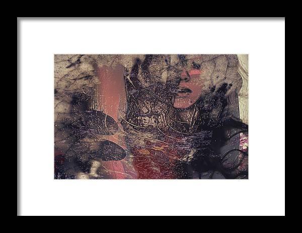 Peach Framed Print featuring the photograph Peach by Avriahartz Digital Arts