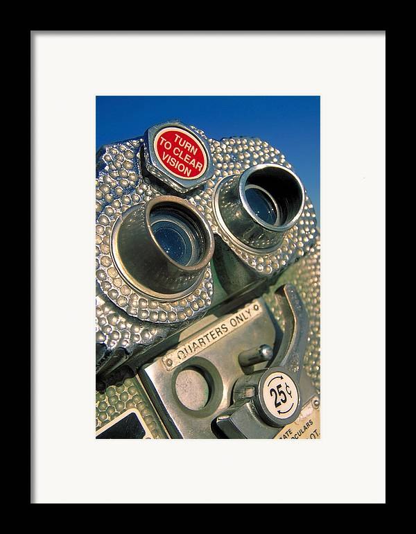 View Framed Print featuring the photograph Peep Show by Skip Hunt