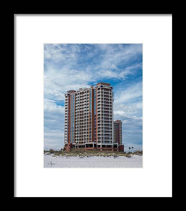 Pensacola Beach Resort Framed Print featuring the photograph Pensacola Beach Resort by Mechala Matthews
