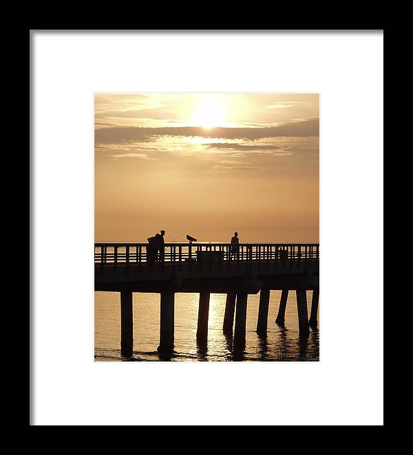 Fish Framed Print featuring the photograph Perfect Day To Fish by Bruce Roker