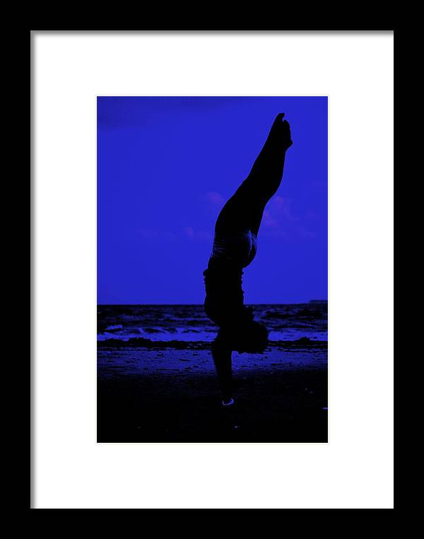 Beach Framed Print featuring the photograph Perfect Form by Trudi Southerland