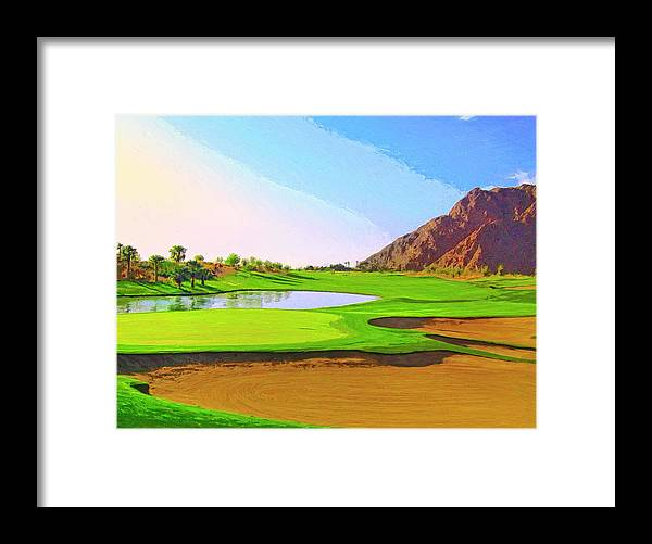 Perfect Morning Framed Print featuring the painting Perfect Morning by Dominic Piperata