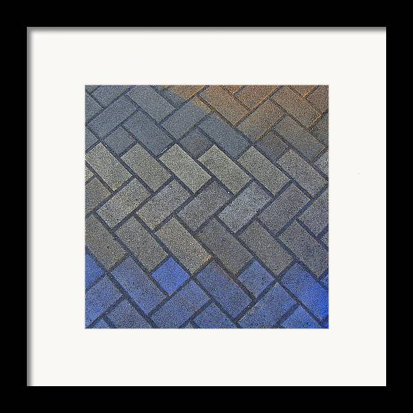 Tiling Framed Print featuring the photograph Perfect Tiling by Roberto Alamino