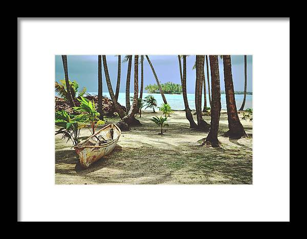 Adventure Framed Print featuring the photograph Perfect Tropical Paradise Islands With Turquoise Water And White Sand by Srdjan Kirtic