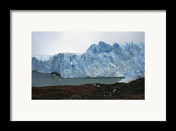 Perito Moreno Framed Print featuring the photograph Perito Moreno by Marcus Best