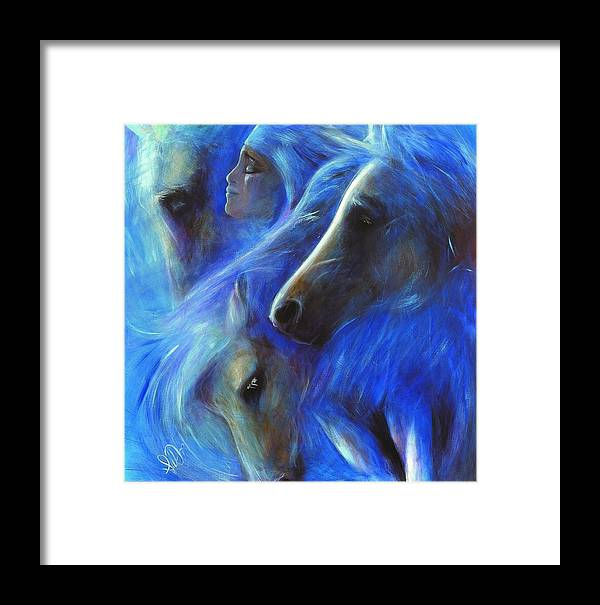 Native American Framed Print featuring the painting Personal Empowerment I by Elizabeth Silk