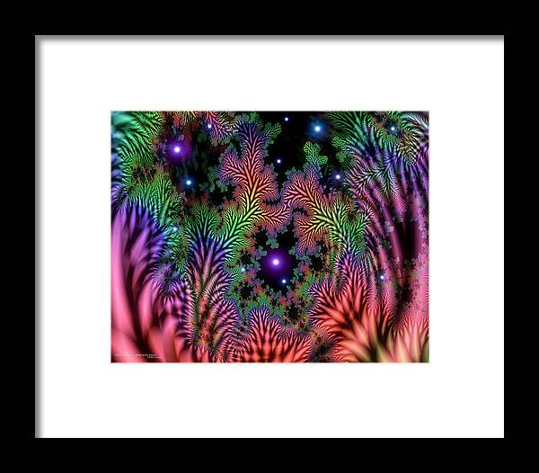Abstract Framed Print featuring the painting Personal Growth by Dreamlight Creations