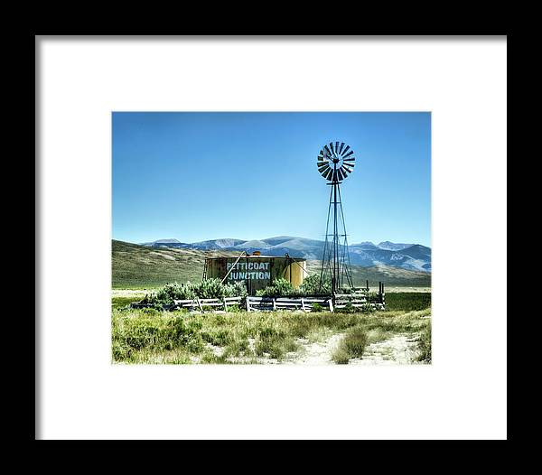 Windmill Framed Print featuring the photograph Petticoat Junction by Roxie Crouch