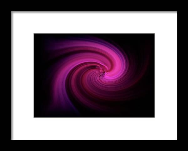 Digitalimage Framed Print featuring the digital art Phantasia by Tony Svensson