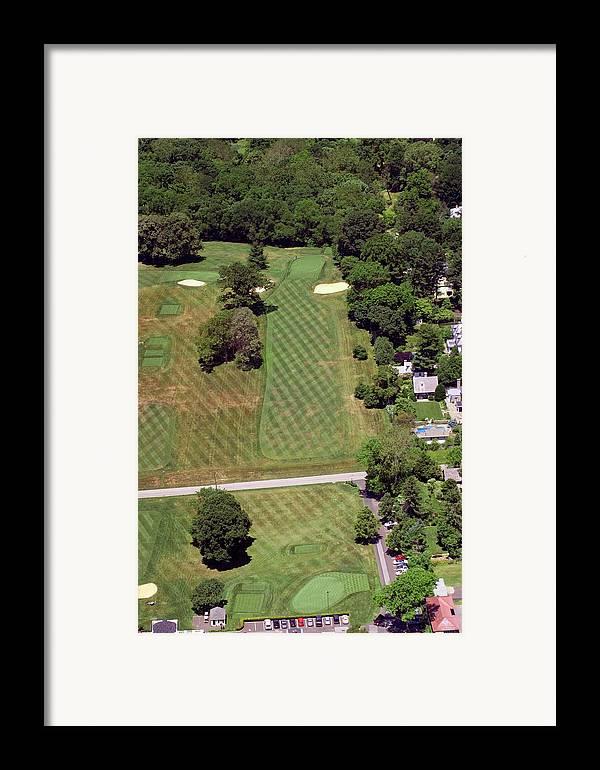 Philadelphia Cricket Club Framed Print featuring the photograph Philadelphia Cricket Club St Martins Golf Course 1st Hole 415 W Willow Grove Avenue Phila Pa 19118 by Duncan Pearson