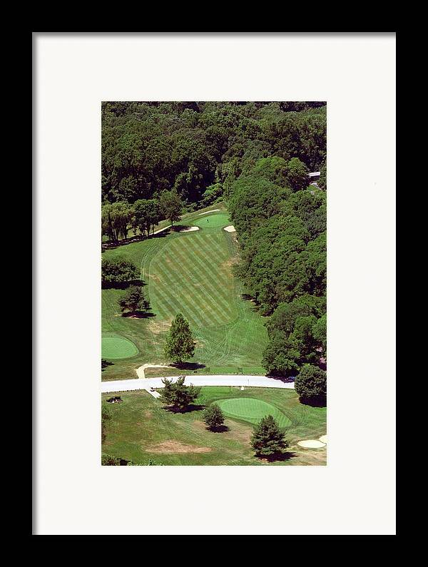 Philadelphia Cricket Club Framed Print featuring the photograph Philadelphia Cricket Club St Martins Golf Course 4th Hole 415 W Willow Grove Ave Phila Pa 19118 by Duncan Pearson