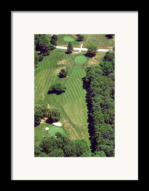Philadelphia Cricket Club Framed Print featuring the photograph Philadelphia Cricket Club St Martins Golf Course 6th Hole 415 West Willow Grove Ave Phila Pa 191118 by Duncan Pearson