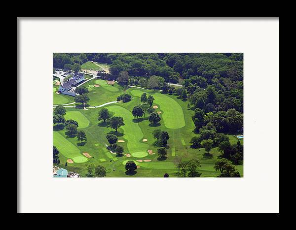 Philadelphia Cricket Club Framed Print featuring the photograph Philadelphia Cricket Club Wissahickon Golf Course 1st And 18th Holes by Duncan Pearson