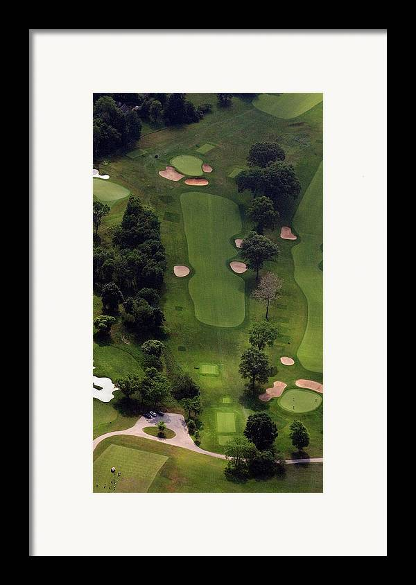 Philadelphia Cricket Club Framed Print featuring the photograph Philadelphia Cricket Club Wissahickon Golf Course 5th Hole by Duncan Pearson