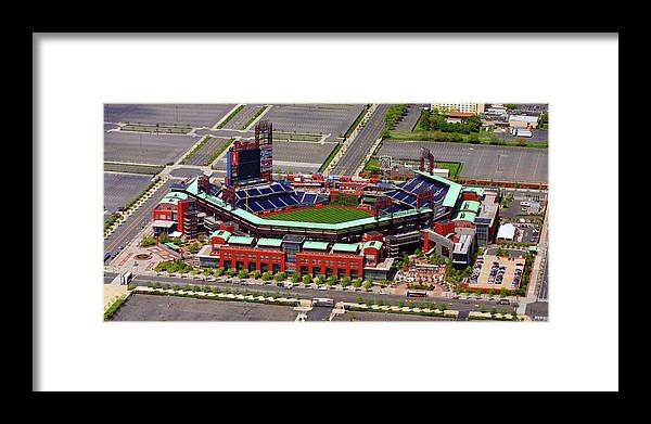 Phillies Framed Print featuring the photograph Phillies Citizens Bank Park by Duncan Pearson