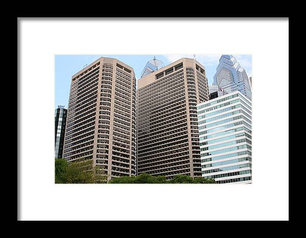 City Framed Print featuring the photograph Philly by Paul SEQUENCE Ferguson       sequence dot net