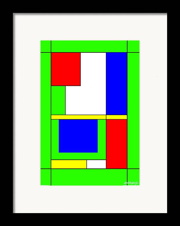 Philosophy Of Life Ii Framed Print featuring the digital art Philosophy Of Life II by Asbjorn Lonvig