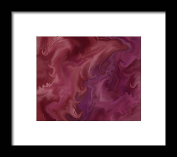 Fantasy Framed Print featuring the painting Phoenix Rising by Anne Norskog