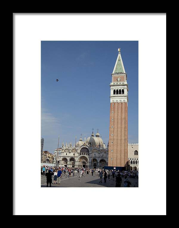 Plaza Framed Print featuring the photograph Piazza San Marco by Charles Ridgway
