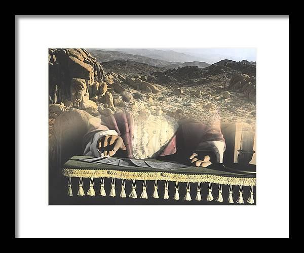 California Desert Framed Print featuring the photograph Pick A Card by Bob Bennett